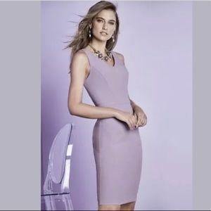 WHBM Body Perfecting Lilac Sheath Dress